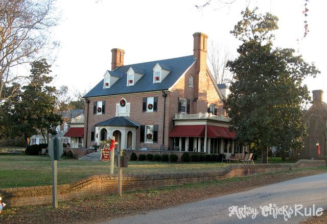 The Hornsby House Inn, Yorktown, VA - artsychicksrule.com
