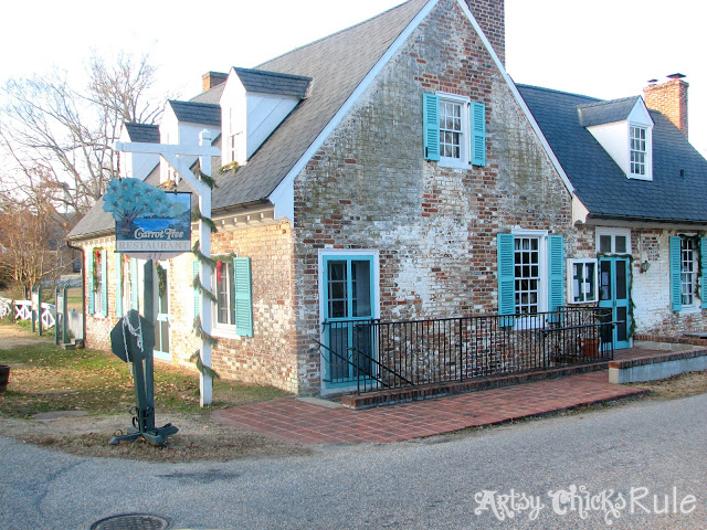 "Cole Digges House ""aka"" The Carrot Tree Restaurant, Yorktown, VA - artsychicksrule.com"