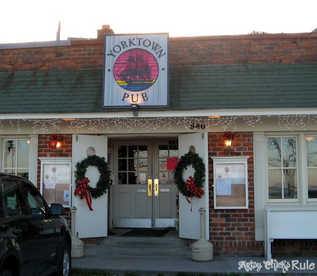 Yorktown Pub, Yorktown, VA - artsychicksrule.com