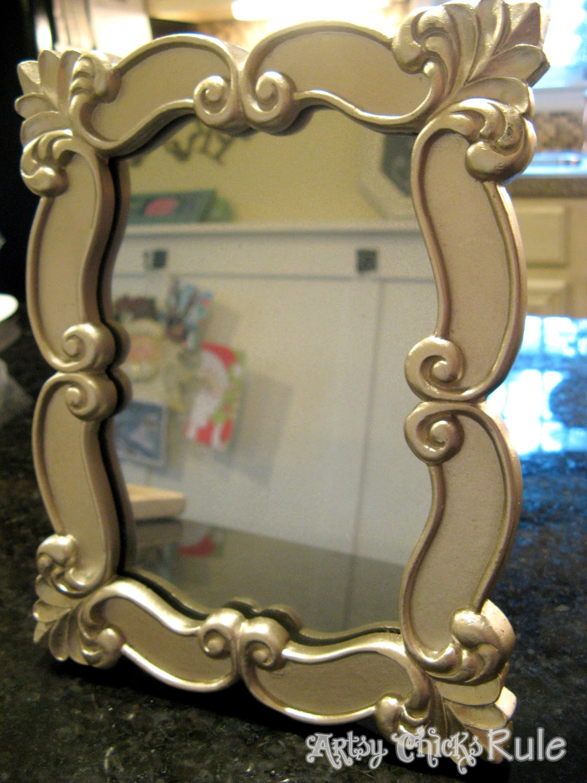 Simple, Inexpensive & Easy DIY Beaded Mirrors - Artsy ...