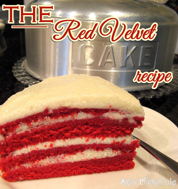 The REAL Red Velvet Cake Recipe (the secrets in the frosting!)