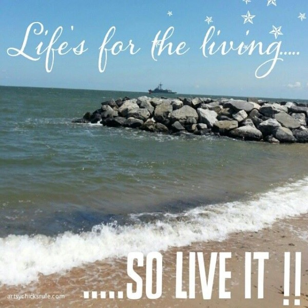 Life's for the Living - Quote - Saying - Poem - artsychicksrule.com #sign #quote #saying
