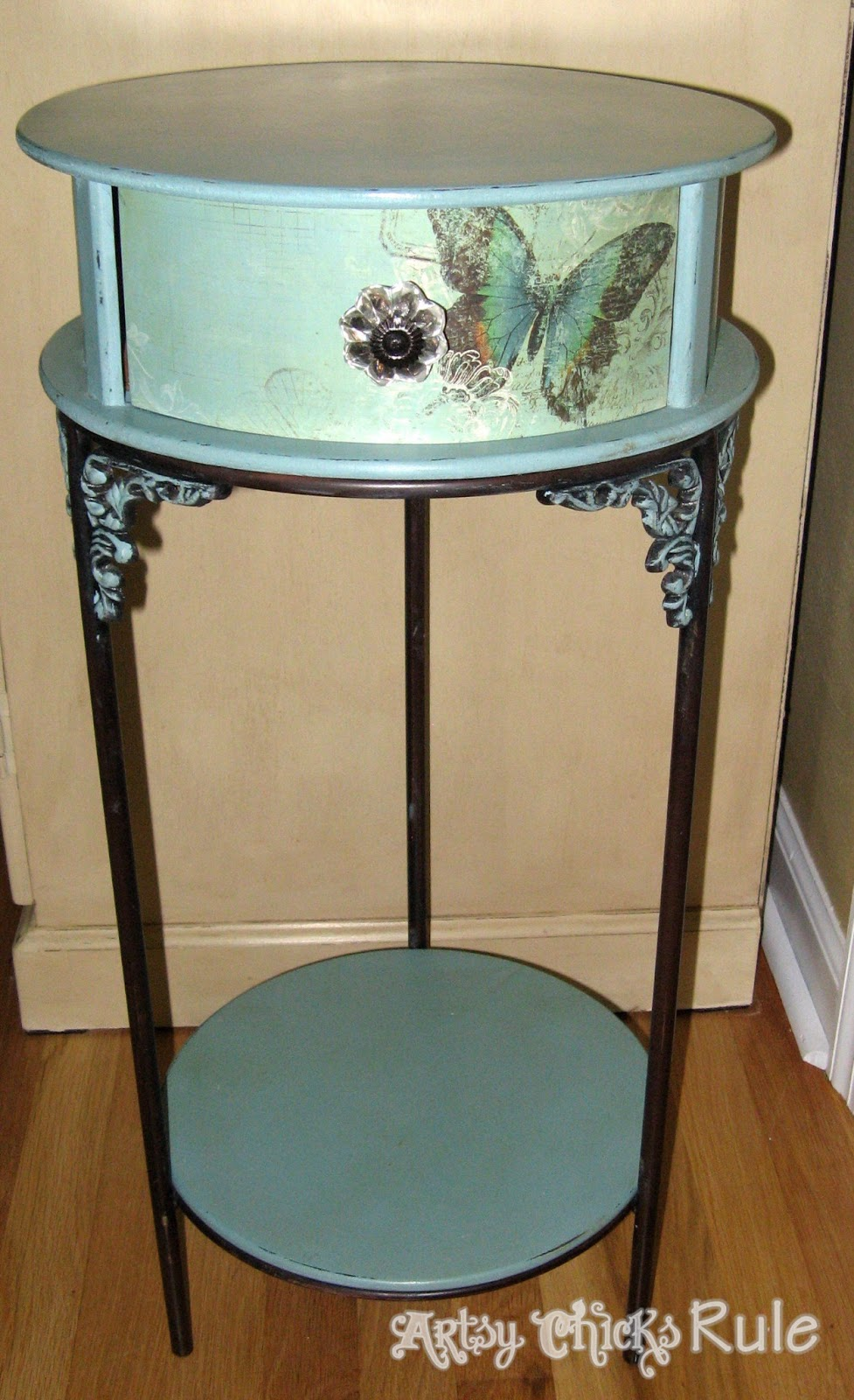 Butterflies Chalk Paint amp A Little Decoupage Artsy