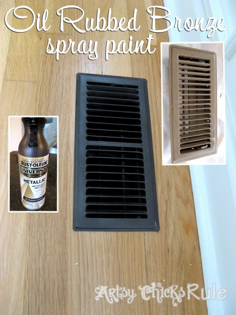 "Oil Rubbed Bronze Spray Paint - The ""miracle"" product!"