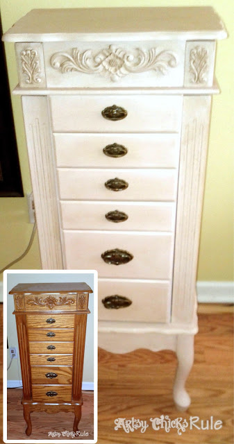 "A Collection of ""Before & After"" Furniture Pieces / artsychicksrule.com"