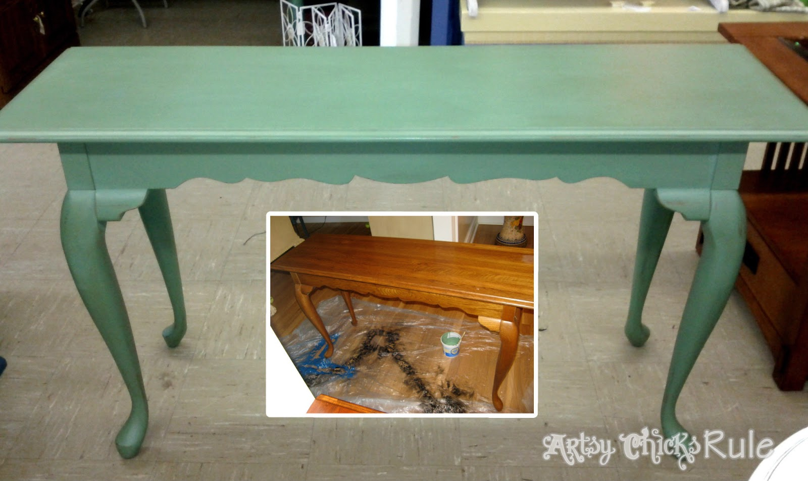 """A Collection of """"Before & After"""" Furniture Pieces - Artsy ..."""