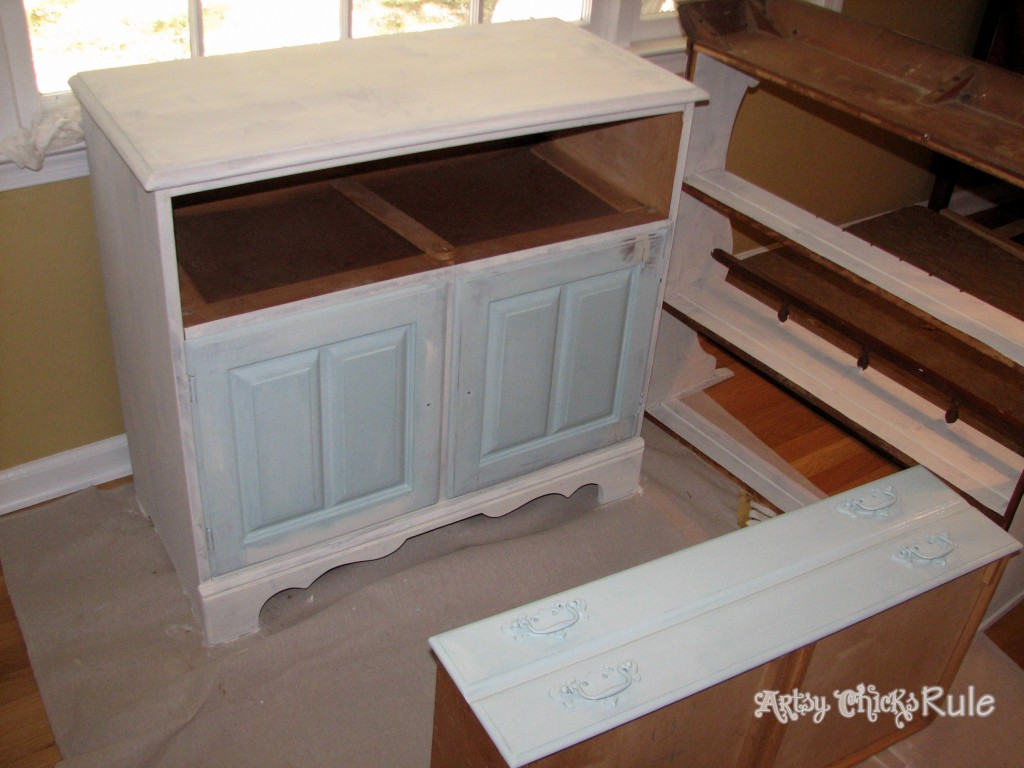 Blue Hutch During Blue Doors