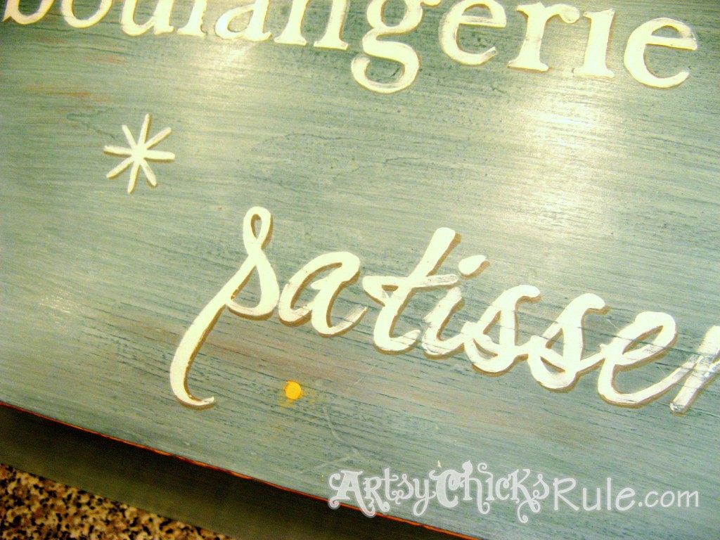 Bread Box Makeover - Miss Mustard Seed Milk Paint