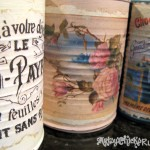 DIY Decorative Can Craft - Up Close1