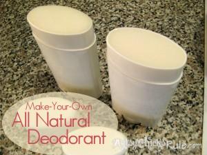 Deodorant - All natural - DIY