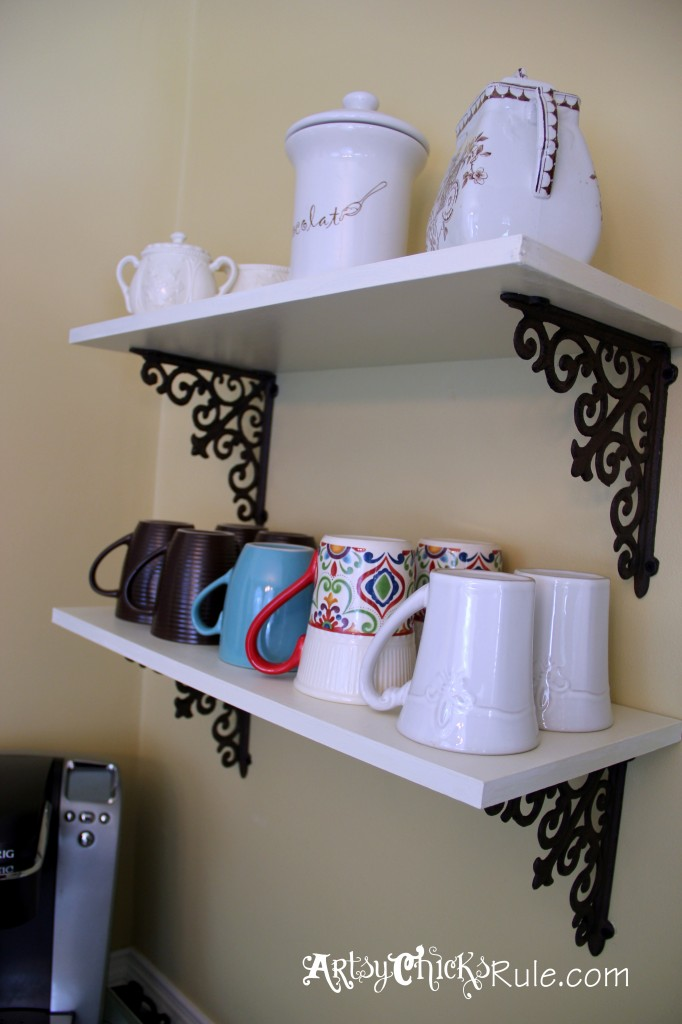 Coffee Bar Shelves