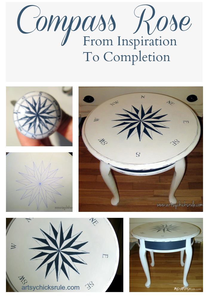 Super EASY way to create a compass rose!!! Must try this!