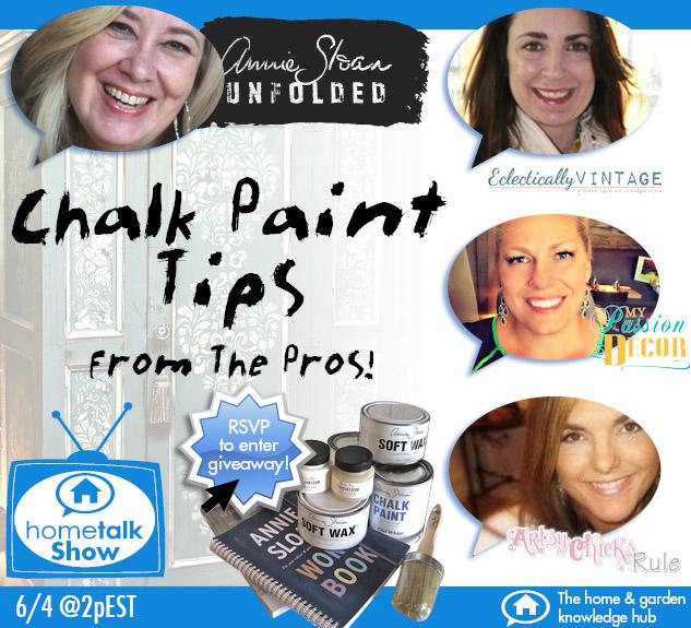 Hometalk Show Chalk Paint0206-1