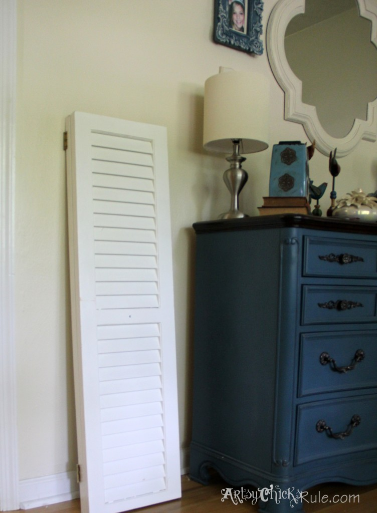 Shutters for the gallery wall
