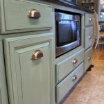 Kitchen Island Duck Egg Blue Chalk Paint3