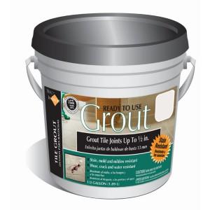 Kitchen Tile Backsplash-Premixed Grout- artsychicksrule.com #backsplash #tile #diy
