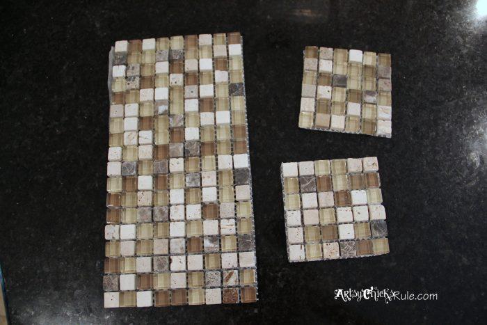 kitchen tile backsplash do it yourself artsy chicks rule