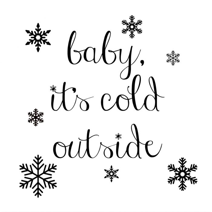 Baby, It's Cold Outside {Thrifty Makeover w/Chalk Paint} - Artsy ...