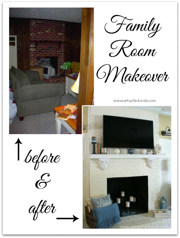 Black Friday Tv Not This Time A Family Room Makeover