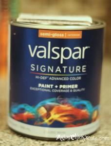 Valspar Paint - artsychicksrule.com #roommakeover
