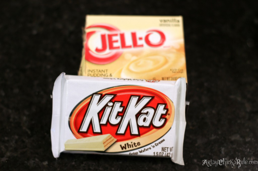 Kit Kat White for Red Trifle