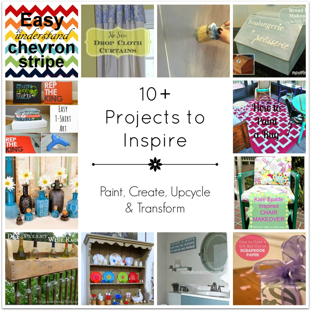 10+ Projects to Inspire