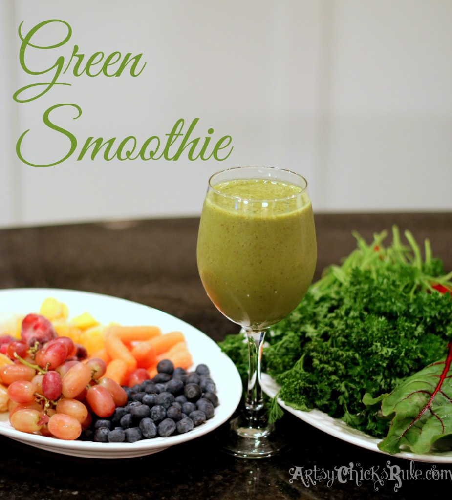 Green Smoothie the easy way