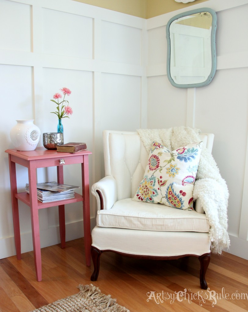 thrifty french chair makeover annie sloan chalk paint. Black Bedroom Furniture Sets. Home Design Ideas