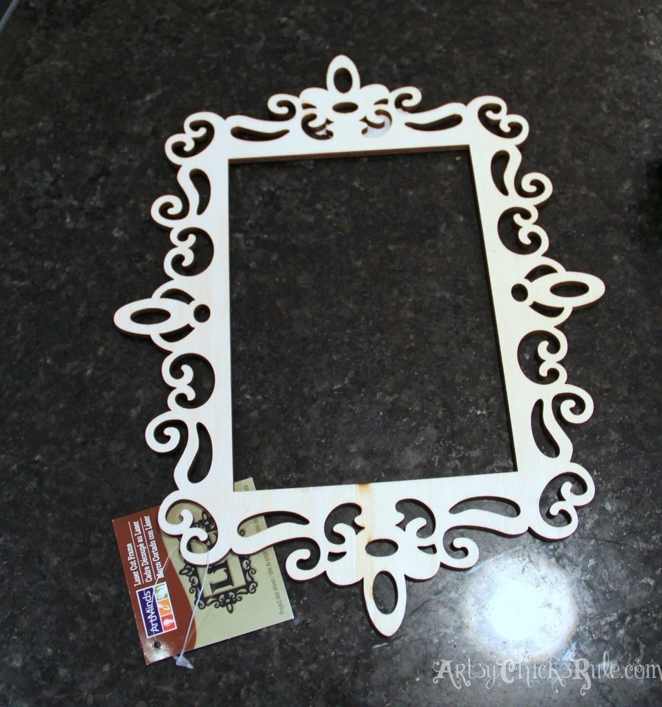 Frame for Simple Valentine's Day Craft