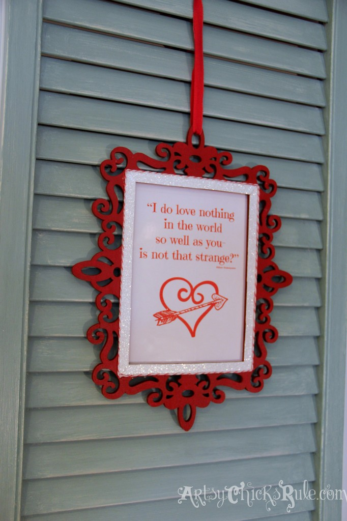 Simple & Fun Valentine's Day Craft - complete