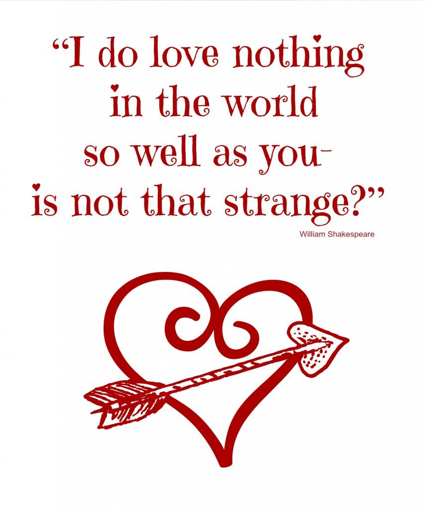 Printable - Valentine's Day Quote