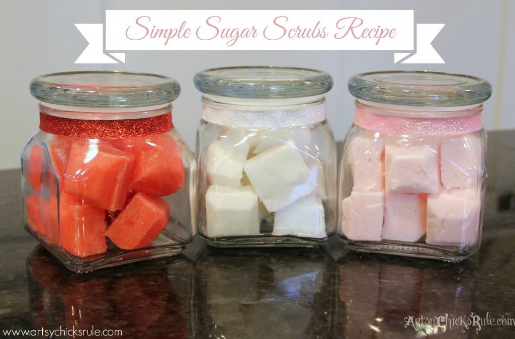 Simple Sugar Scrubs Recipe