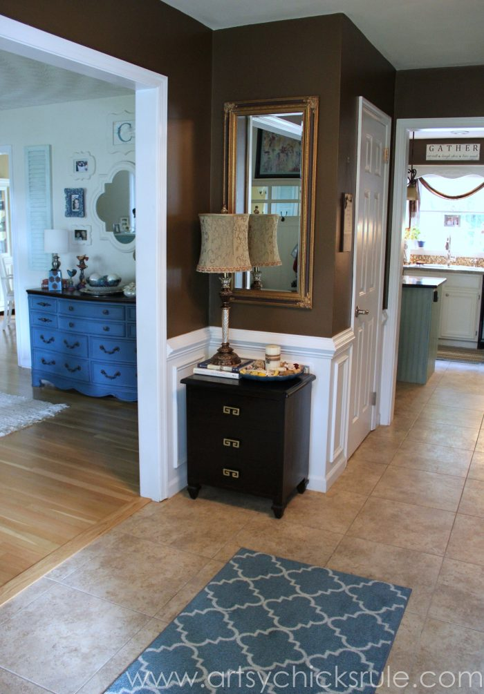 Foyer Colors Sherwin Williams : Foyer before after years in the making artsy