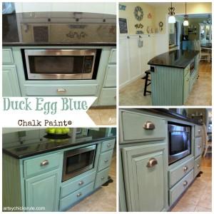 Duck Egg Blue Island