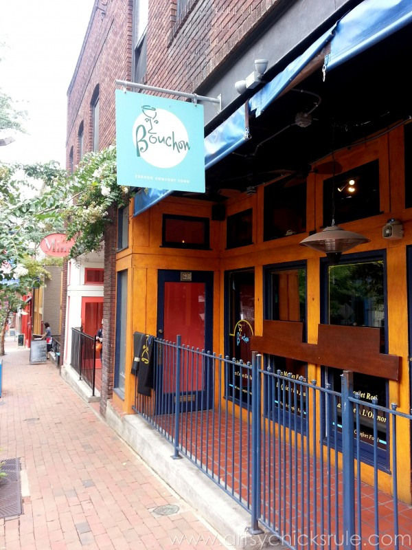 Asheville NC Road Trip - Downtown Restaurant - artsychicksrule.com #asheville #downtown