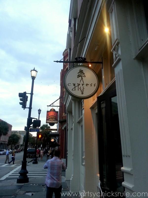 Charleston - Mount Pleasant - a trip in photos - Cypress - artsychicksrule.com #southcarolina #charleston