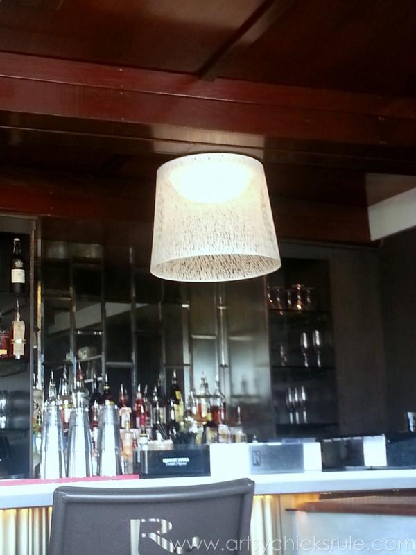 Charleston - Mount Pleasant - a trip in photos - Lighting - artsychicksrule.com #southcarolina #charleston