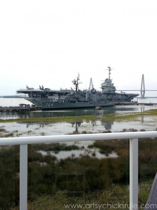 Charleston - Mount Pleasant - a trip in photos - Ship Destroyer - artsychicksrule.com #southcarolina #charleston