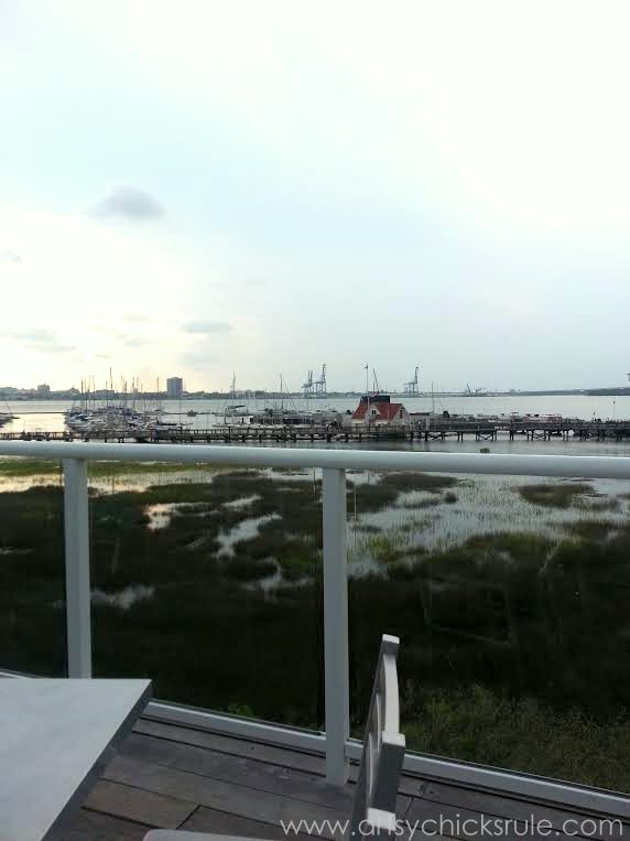 Charleston - Mount Pleasant - a trip in photos - view from the Bridge Bar - artsychicksrule.com #southcarolina #charleston