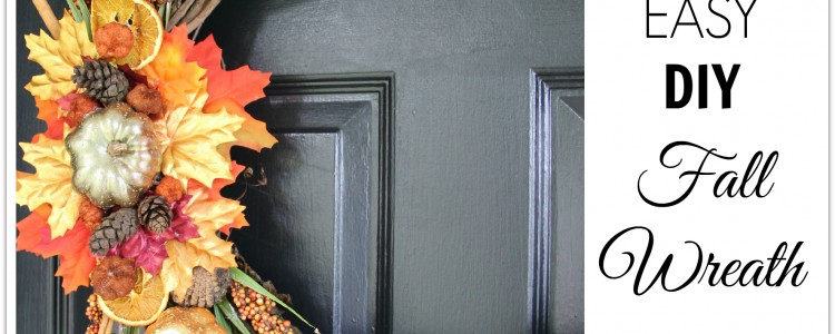 DIY Fall Wreath { Fall Themed Tour}