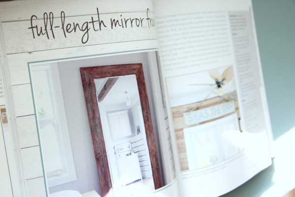 DIY Wood Pallet Book Review - Mirror