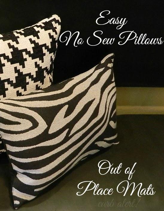 Knockoff Pillow Pin - Curb Alert