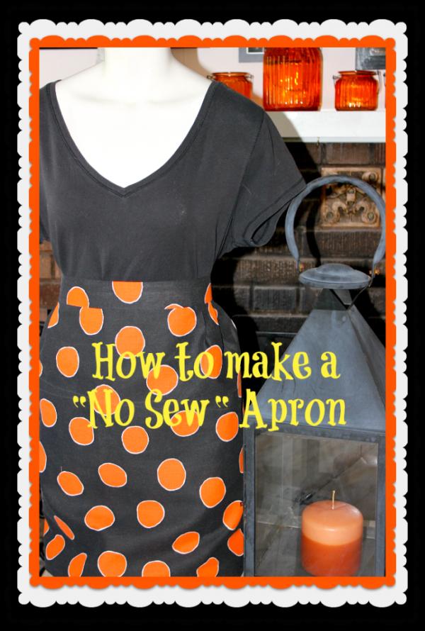 No Sew Apron - Concord Cottage