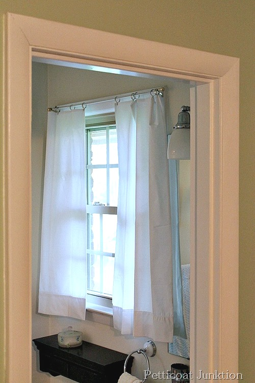 No Sew Pillow Case Curtains - Petticoat Junktion