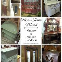 Pages Thieves Market - Mt Pleasant SC - Vintage Antique Goodness - #vintage #antique artsychicksrule.com