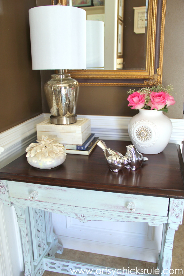 Shop Your Home - Decorating Challenge - First of Three #makeover #decor #decorating artsychicksrule.com (5)