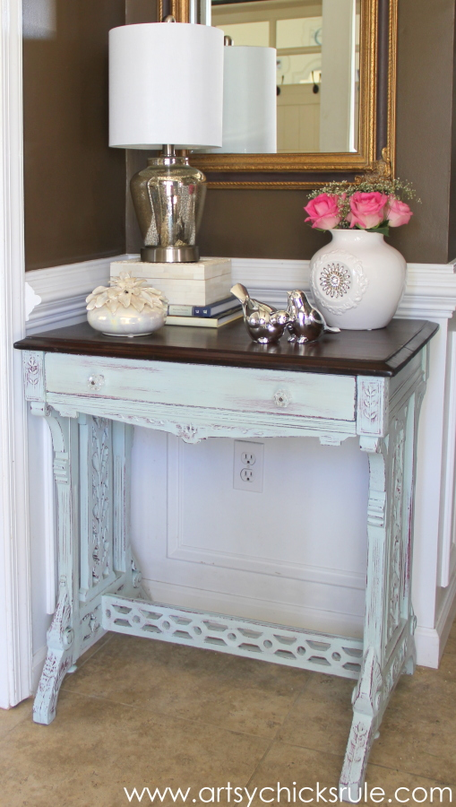 Shop Your Home - Decorating Challenge - First of Three #makeover #decor #decorating artsychicksrule.com (6)