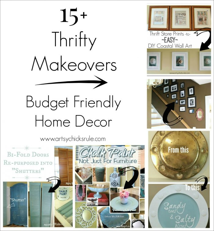 Thrifty Find Makeovers Budget Friendly Decor Artsy Chicks Rule