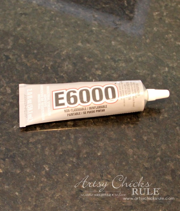 Thrifty Makeovers - E6000 Adhesive - Artsy Chicks Rule