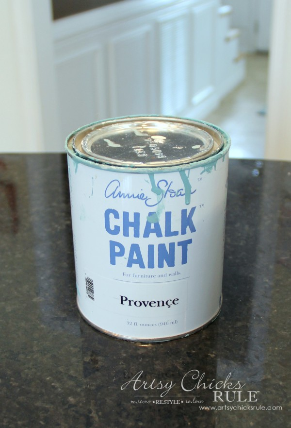 Thrifty Makeovers - Provence Chalk Paint - Artsy Chicks Rule
